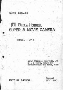 Bell and Howell 2148 manual